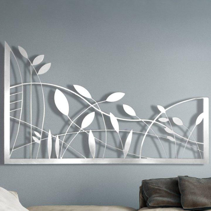 Laser Cut Metal Decorative Wall Art Panel Sculpture For Home for Latest Laser Cut Metal Wall Art - Beautiful Artworks
